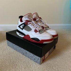 Air Jordan Retro Fire Red 4s (2012)